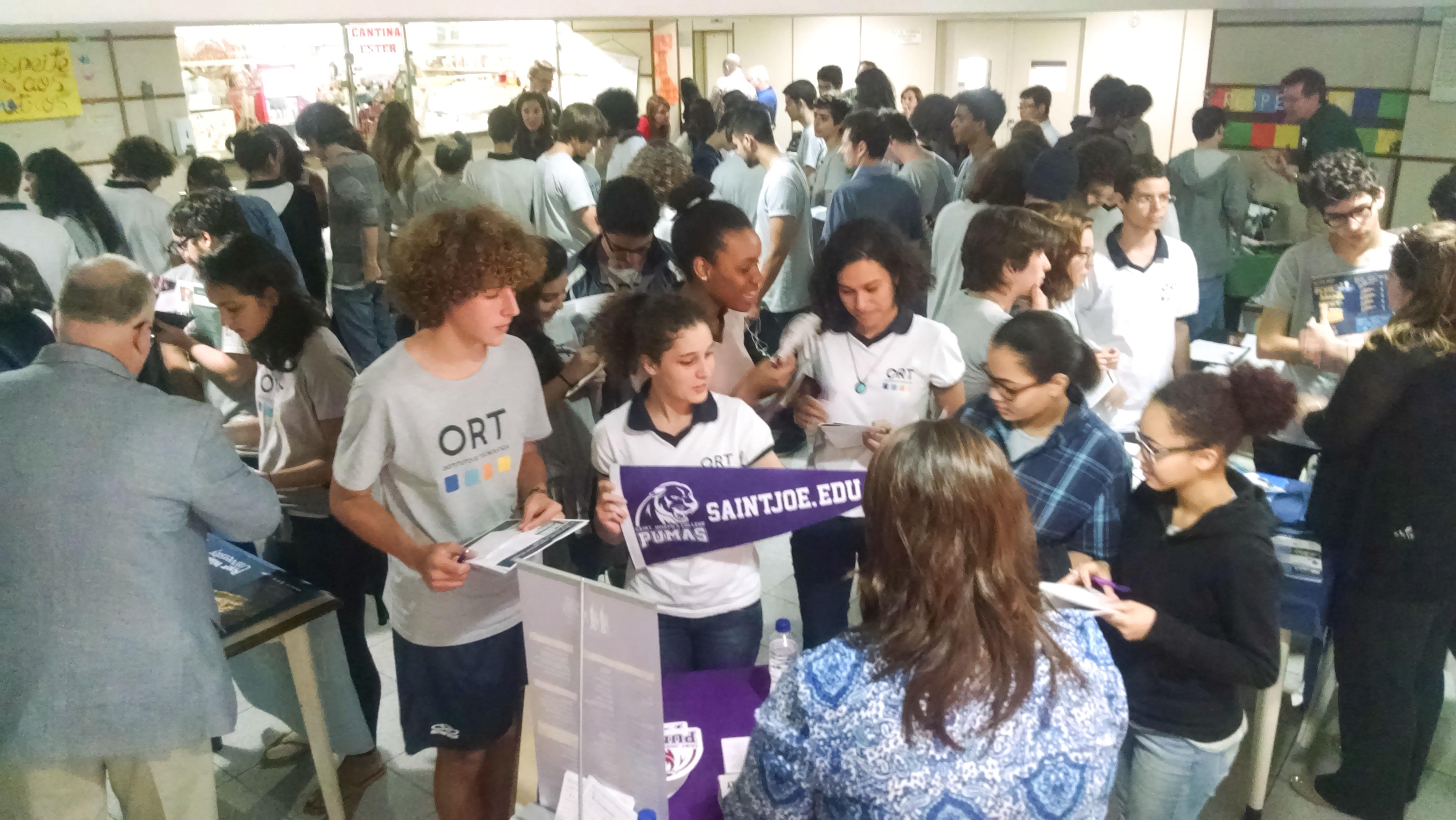 Visita dasUniversidades Americanas no ORT